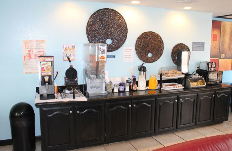 Continental Breakfast at Blue Bay Inn and Suites