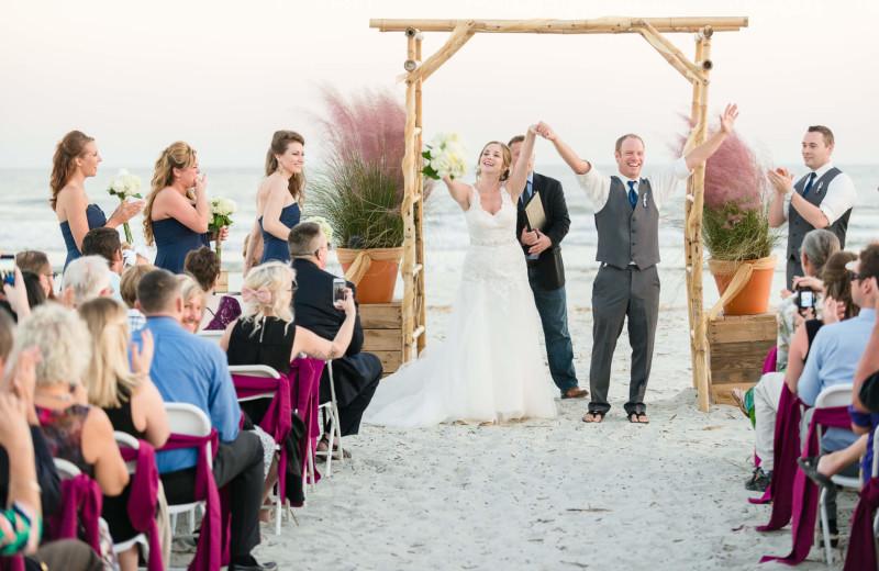 Wedding at Fripp Island Golf & Beach Resort.
