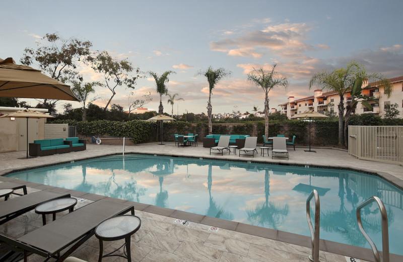 Outdoor pool at The Redondo Beach Hotel.