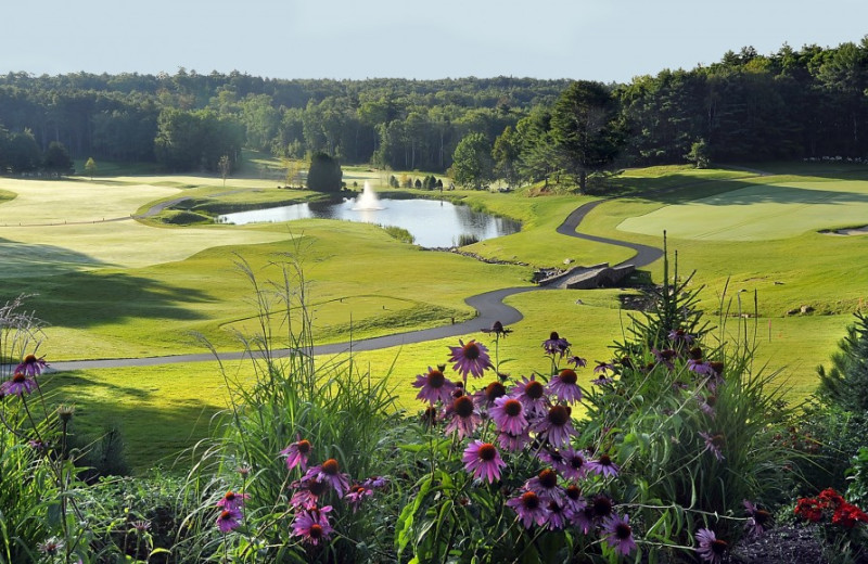 Golf course at Harbour Towne Inn on the Waterfront.