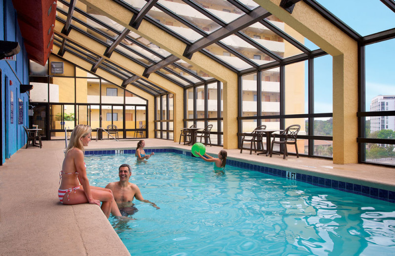 Indoor pool at The Caravelle Golf & Family Resort.