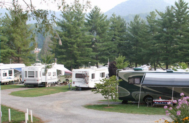 Campground at Lake Junaluska Conference & Retreat Center.