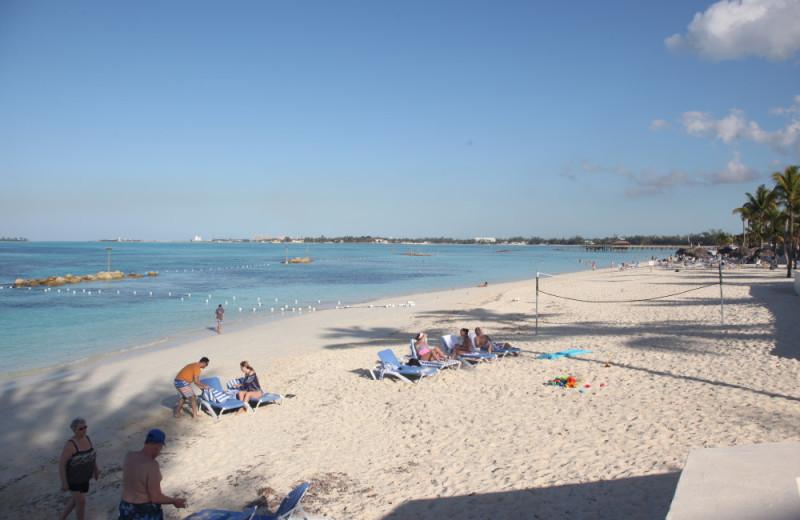 Beach at Westwind 11 Club.