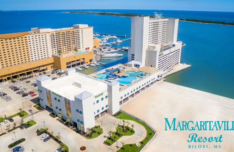 Exterior view of Margaritaville Resort Biloxi.