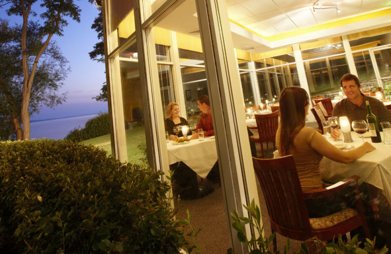 Grey Rock restaurant at Heidel House Resort.