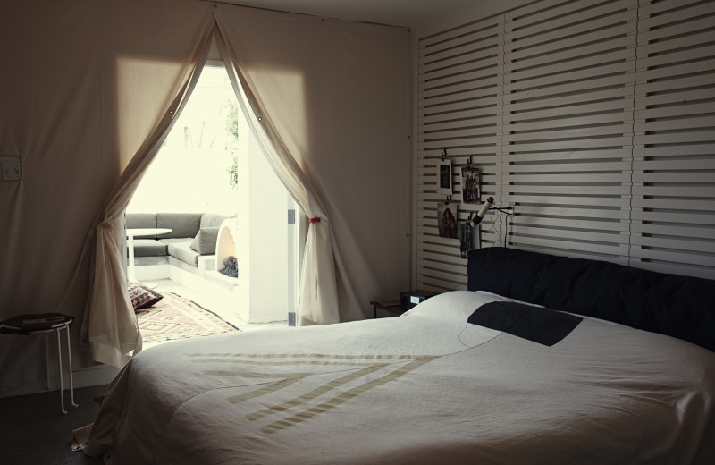 Guest room at Ace Hotel and Swim Club.