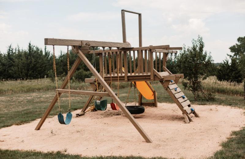 Playground at Granite Springs Lodge.