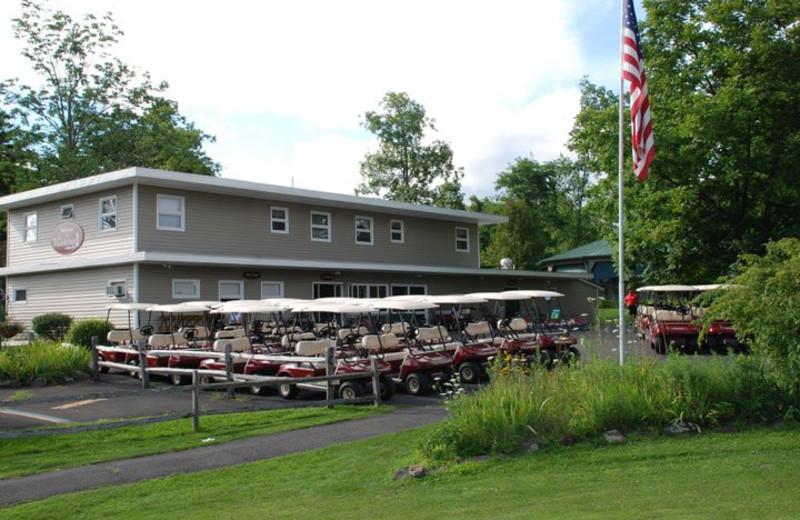Club House at Thunderhart Golf Course.