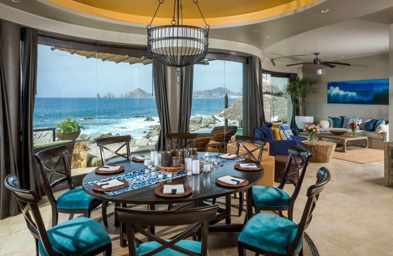 Rental dining room at Sun Cabo Vacations.