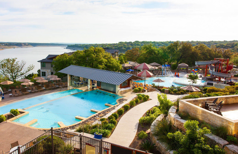 Outdoor pool at Lakeway Resort and Spa.