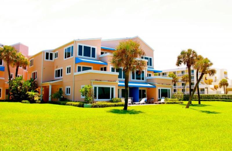 Vacation rental at Sand Cay Beach Resort.