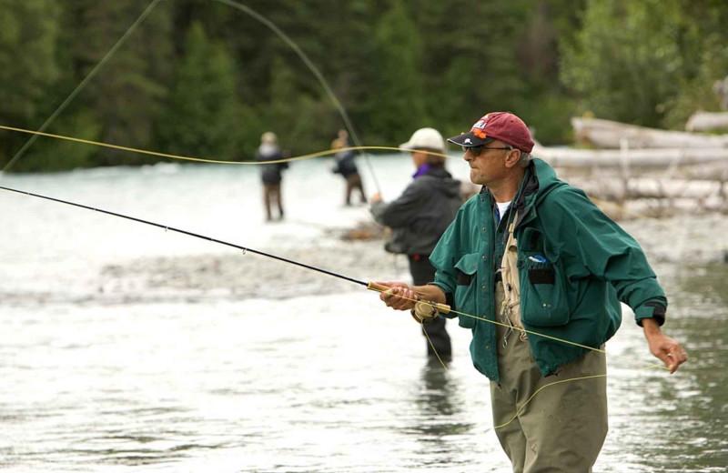 Fishing near Fall River Village Resort Condos.