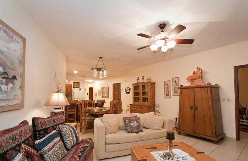 Guest room at Sonoran Sun Condos.