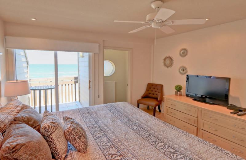 Rental bedroom at La Isla VR - South Padre.