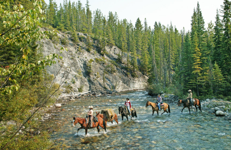 Horseback Riding at Warner Guiding & Outfitting