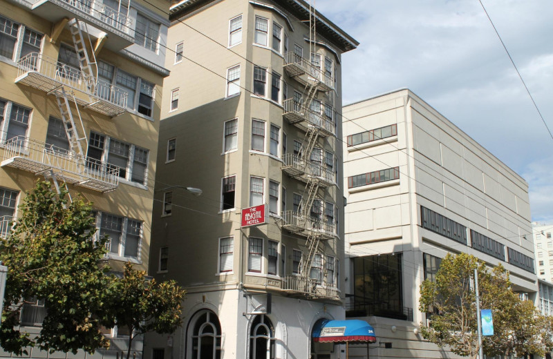 Exterior view of Abigail Hotel San Francisco.
