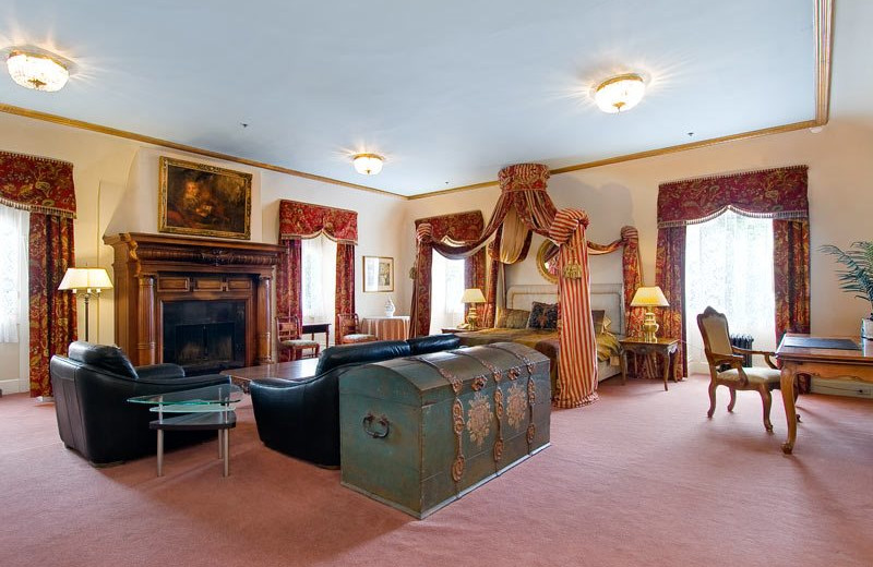 Guest room at Archbishop's Mansion.
