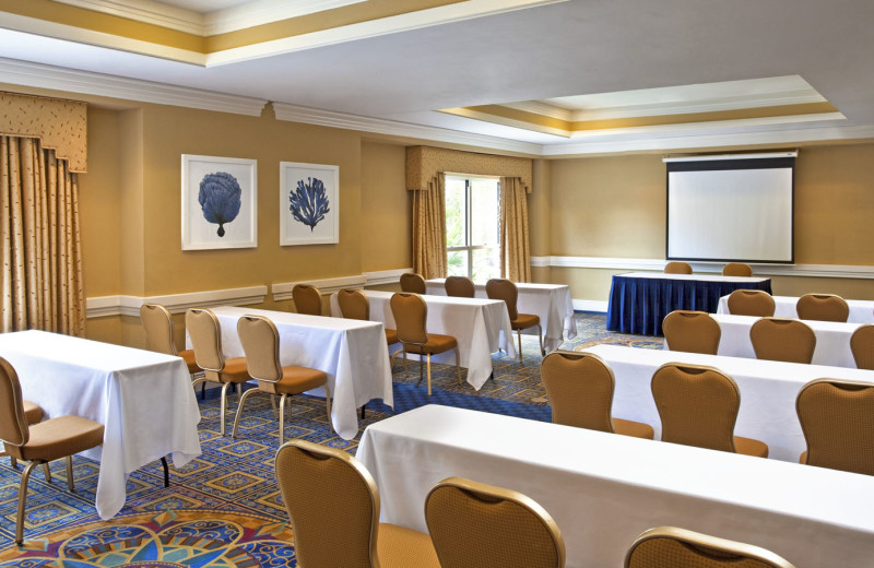 Conference room at Sheraton Suites Key West.