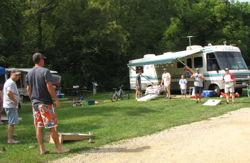 Family Fun at Merry Mac's Campground