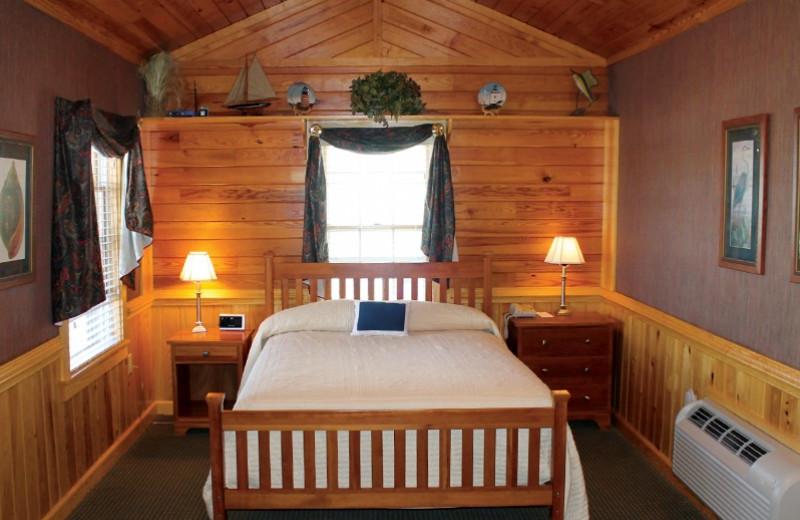 Cottage bedroom at Smithfield Station.