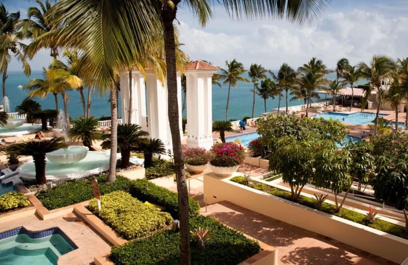 Outdoor pool at Wyndham El Conquistador Resort.