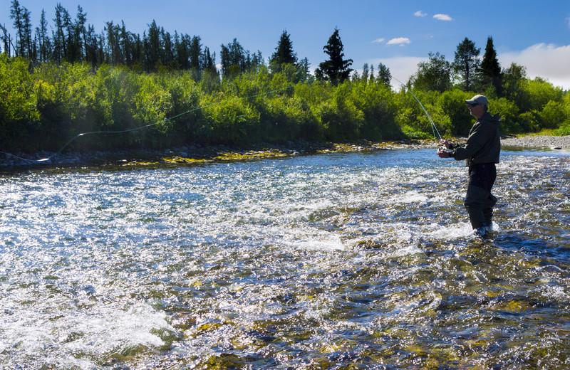 Fishing at The Killington Group.