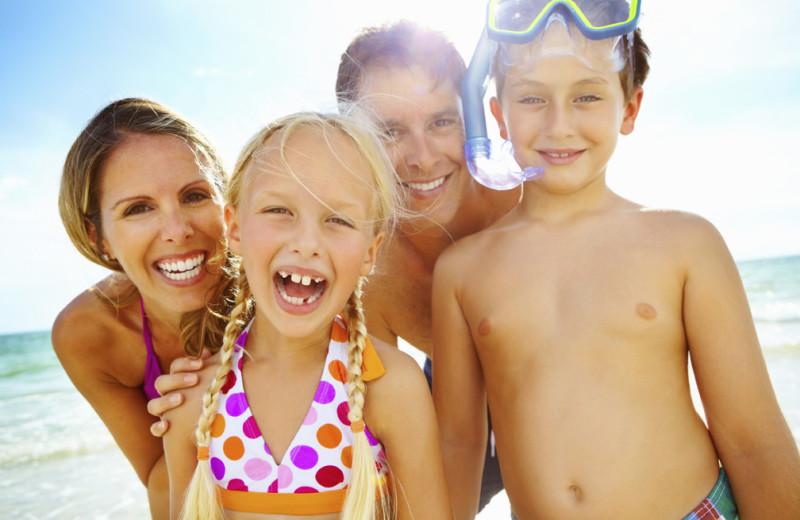 Family at Seascape Resort.