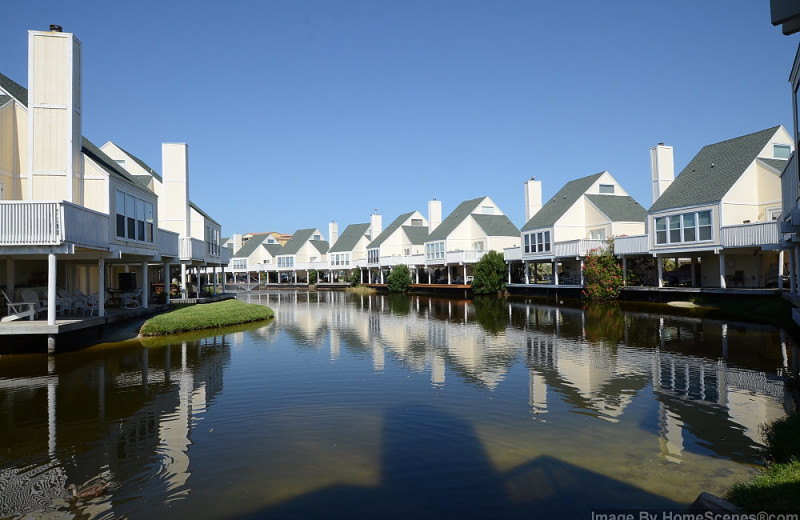 Exterior view of Sandpiper Cove.