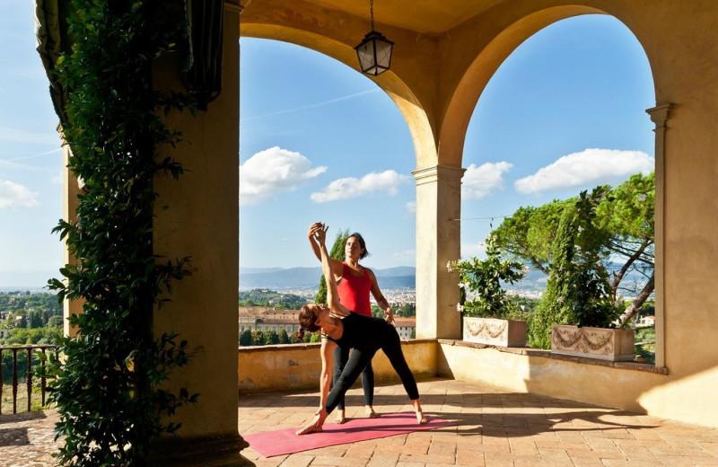 Fitness at Villa Poggio Sanfelice.