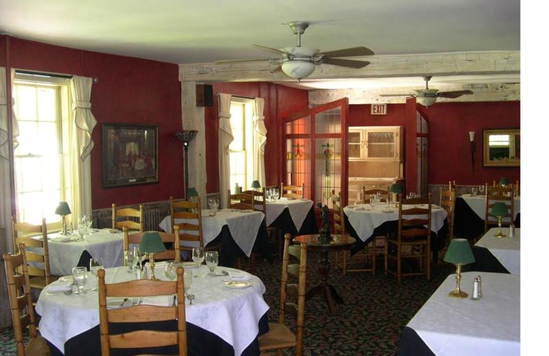 Dining at Waybury Inn.