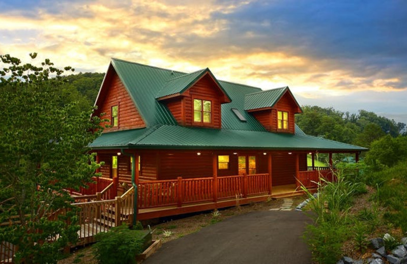 Rental exterior at American Mountain Rentals.