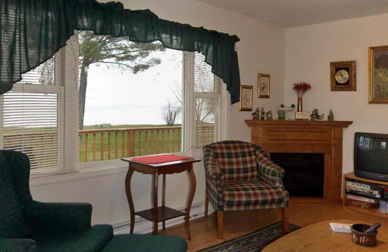 Rental living room at Superior Rentals.