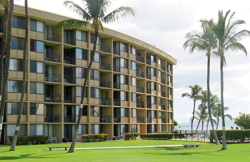 Exterior view of Maui Vacation Rentals.