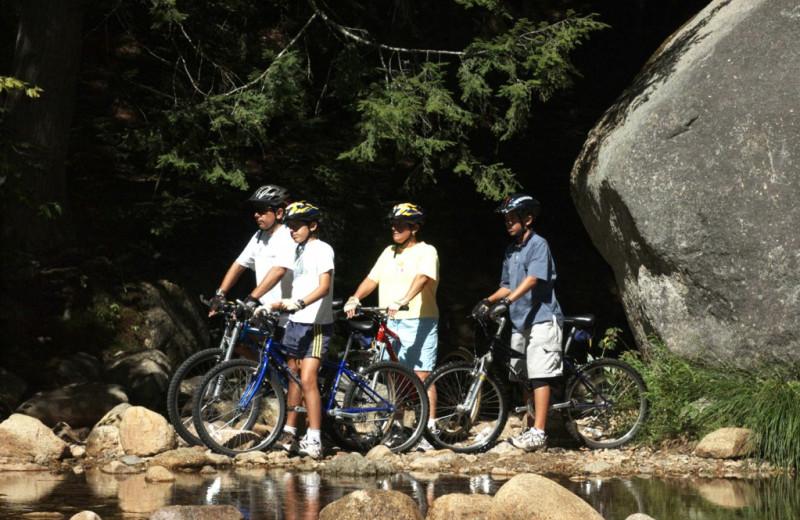 Bike riding near The Valley Inn.