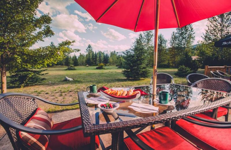 Breakfast at Glacier House Resort.