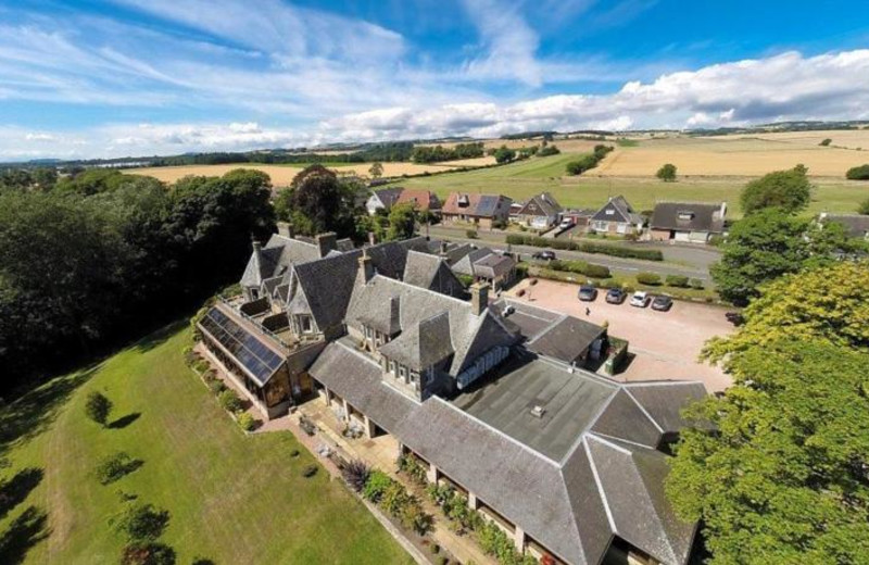 Aerial view of Old Manor Country House Hotel.