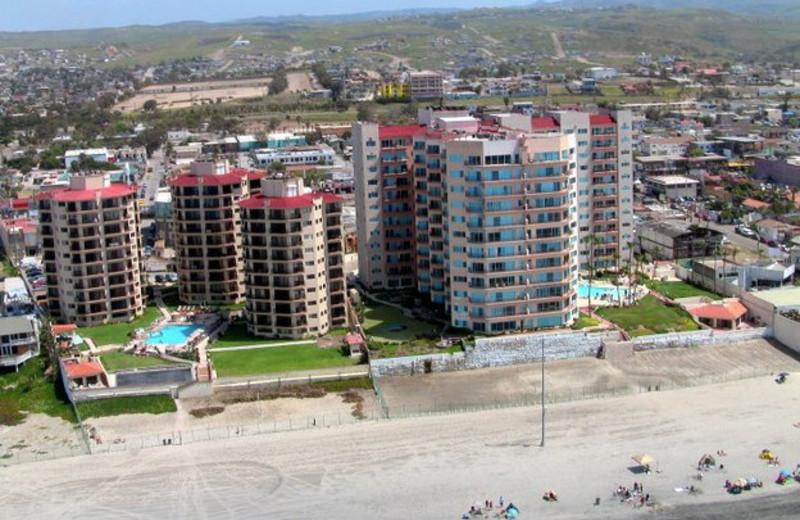 Aerial View of Rosarito Inn Condominium