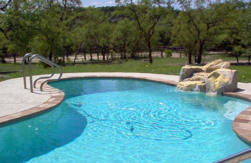 Outdoor pool at Rancho Cortez.