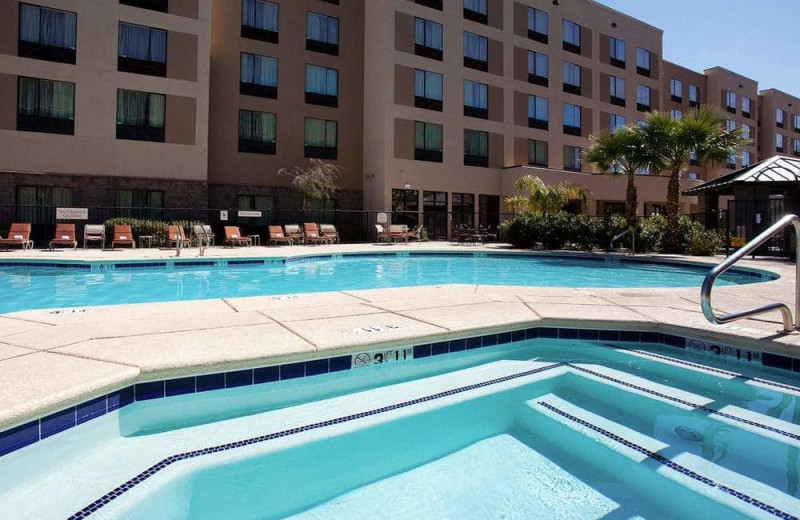 Outdoor pool at Residence Inn Phoenix North/Happy Valley.