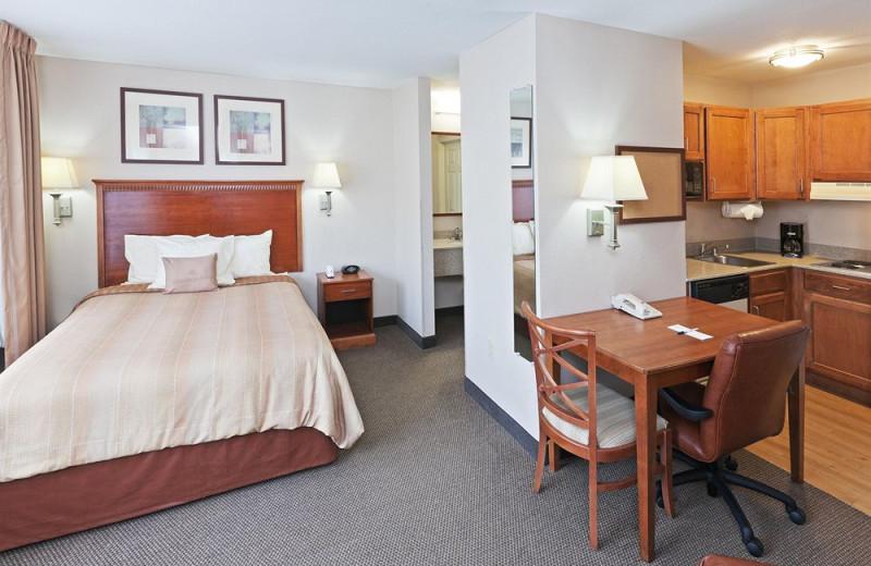 Guest suite at Candlewood Suites DALLAS/MARKET CENTER.