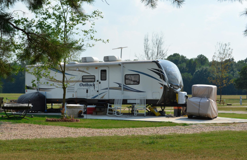 RV campground at MarVal Resort.