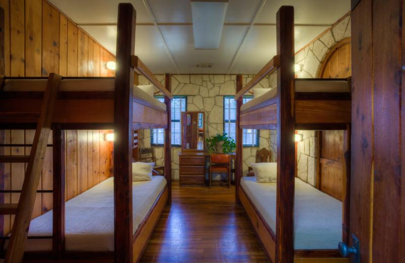 Guest room at Mo-Ranch.