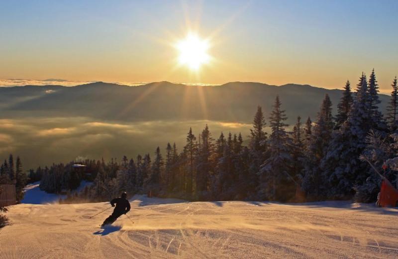 Skiing at Inn at The Mountain.