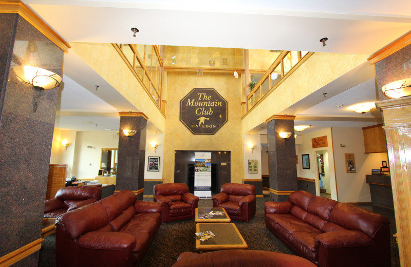 Lobby view of The Mountain Club.