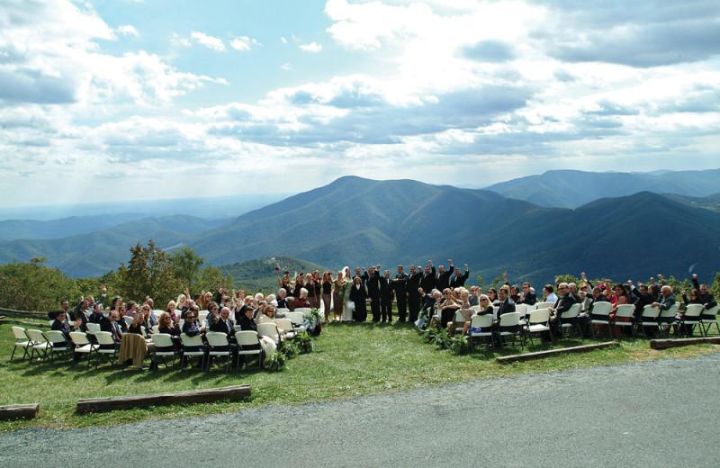 Weddings at Wintergreen Resort.