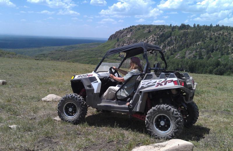 ATV at Echo Basin Cabin And RV Resort.
