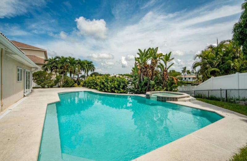 Rental pool at Belloise Realty.