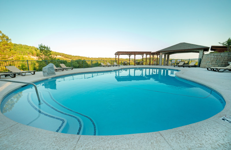 Pool at Thousand Hills Golf Resort.