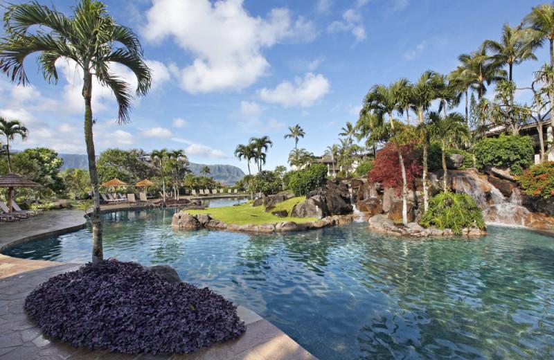 Outdoor pool at Hanalei Bay Resort & Suites.