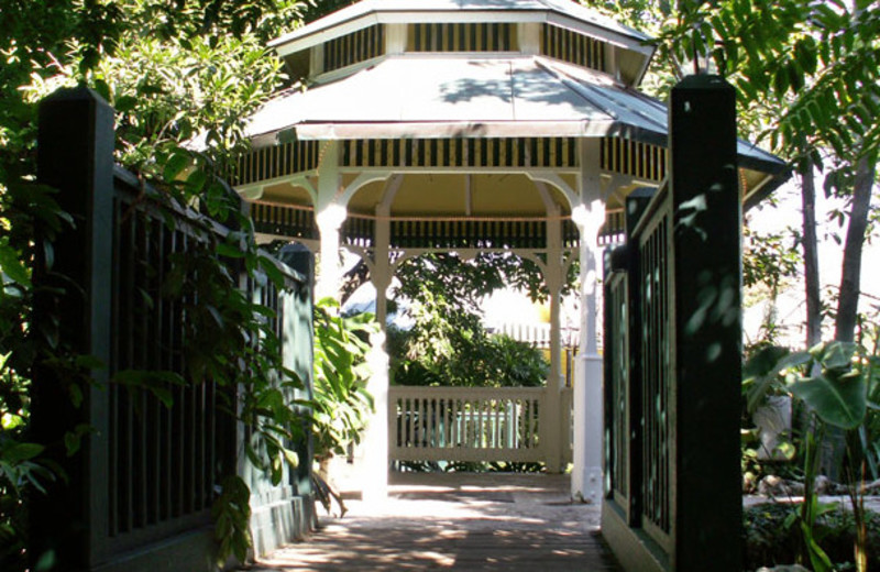 Gazebo at Sundy House.